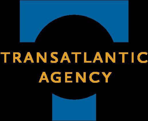 Transatlantic Agency logo image for dark background