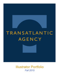 Transatlantic Illustrator and Picture Book Author Catalogue cover image