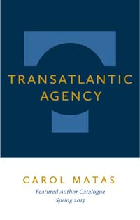 Transatlantic – Carol Matas catalogue cover image