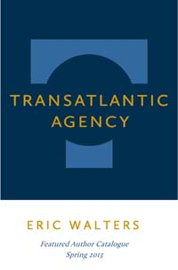 Transatlantic – Eric Walters catalogue cover image